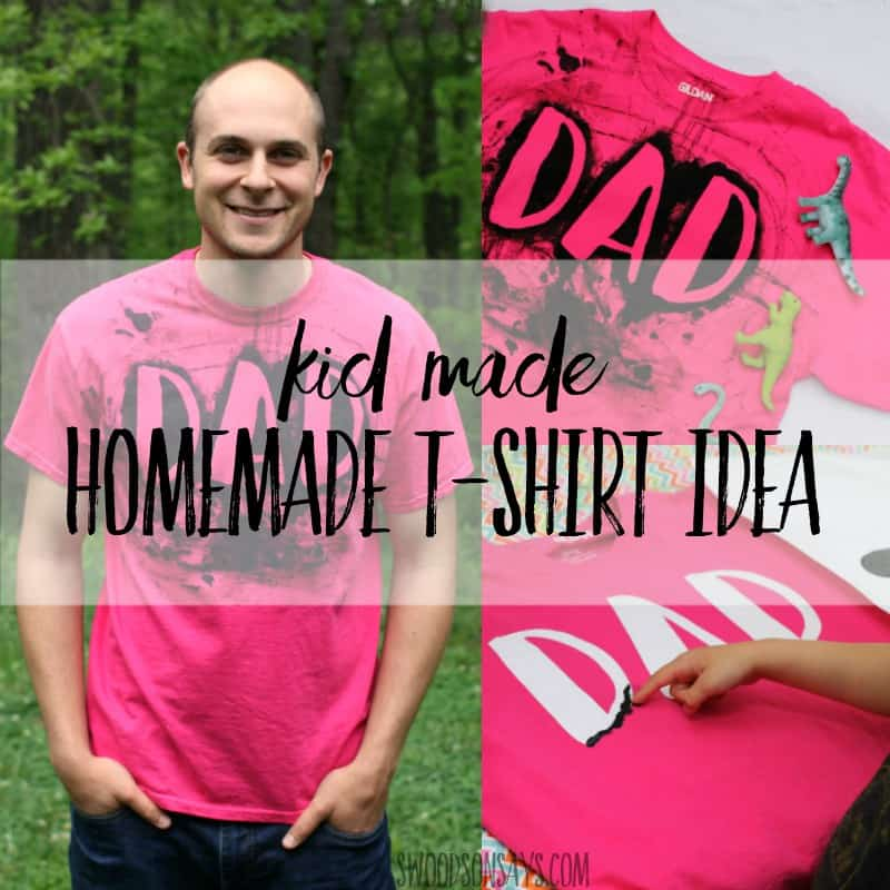 Handmade TShirt Idea for Father's Day