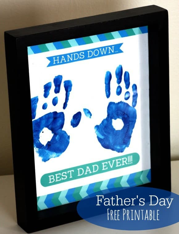 fathers day free printable gift idea