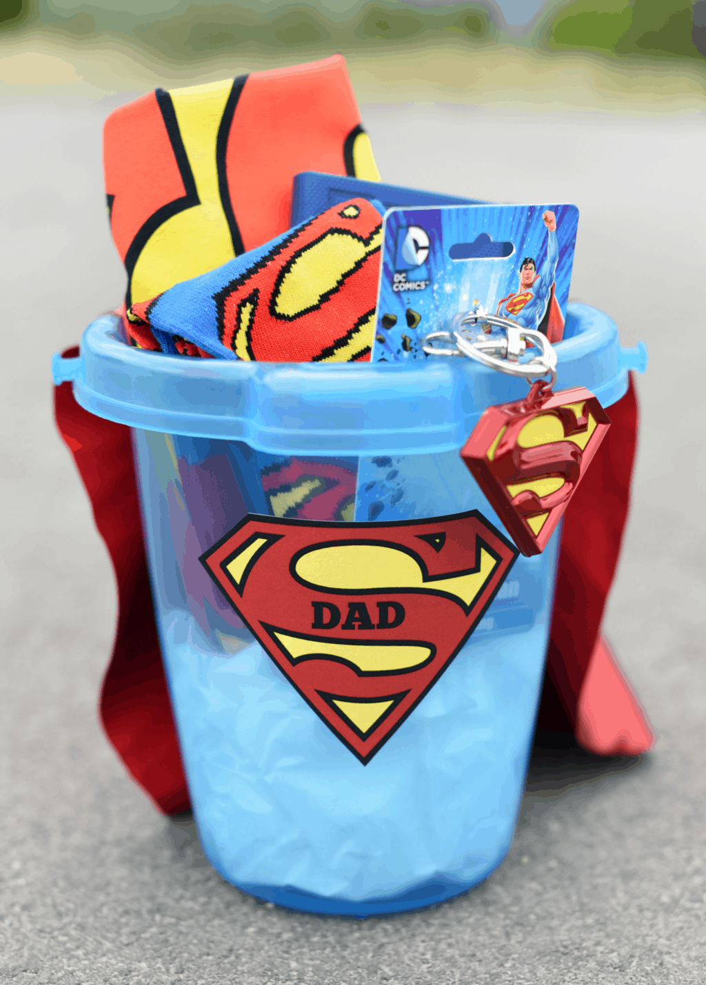 Superhero gift idea for father's day